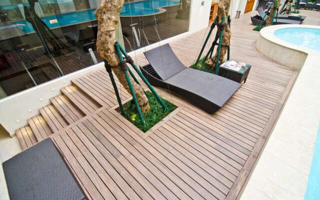 Terrassenboden - Jaya Wood Hardwood Decking Invisible Fixation Softline Vetedy The Pakubuwono Residence Kos Jakarta 3
