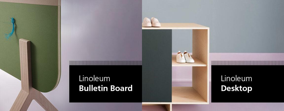 Oberflächenlinoleum – farbenfroh elegant und praktisch einsetzbar